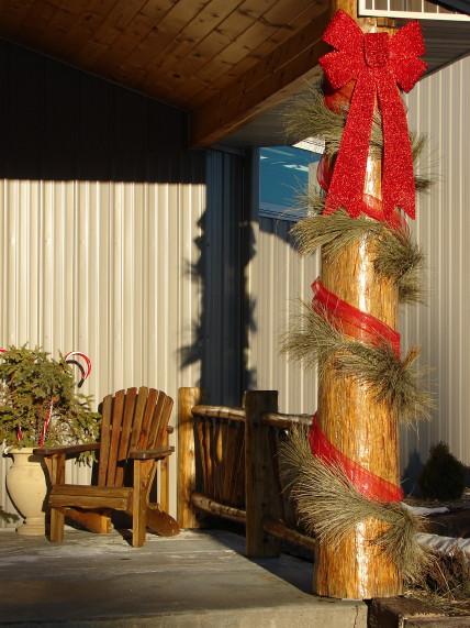 Real Natural Dried Pine Garland Long Needle 6 Foot, Moose-R-Us.Com Log Cabin Decor