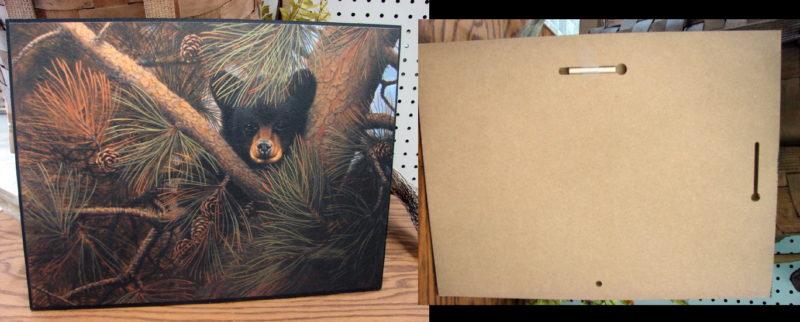 High and Lonesome Bear Cub Pines Derk Hansen Artwork Picture, Moose-R-Us.Com Log Cabin Decor