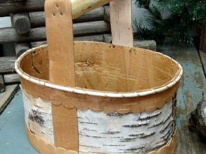Birch Bark Decorating