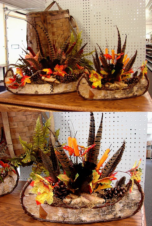 Northwoods Memories Collection Centerpieces