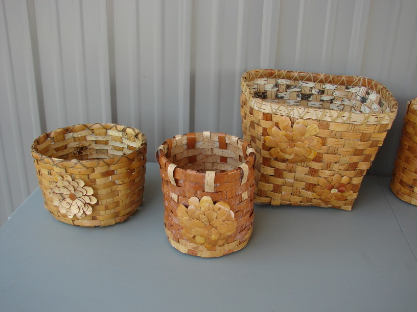 Birch Bark Decorating